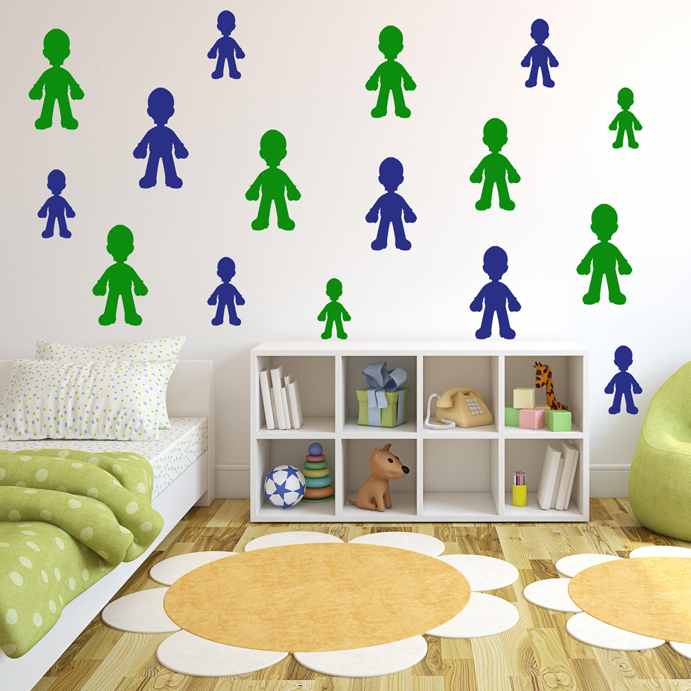 Luigi Gaming & Entertainment Creative Multipack Wall Stickers Home Art Decals