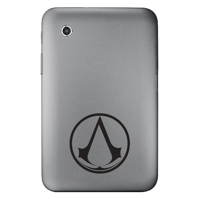 Assassins Creed Circular Gaming Laptop Phone Tablet Car Stickers Home Art Decals