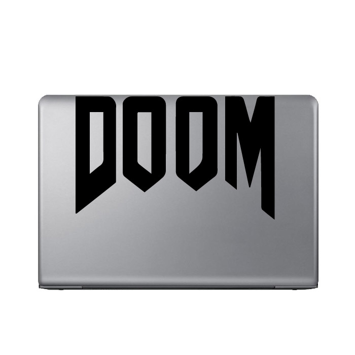 Doom Gaming Entertainment Laptop Phone Tablet Car Stickers Home Decor Art Decals