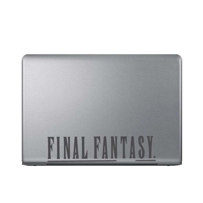 Final Fantasy Gaming Entertainment Laptop Phone Tablet Car Stickers Art Decals