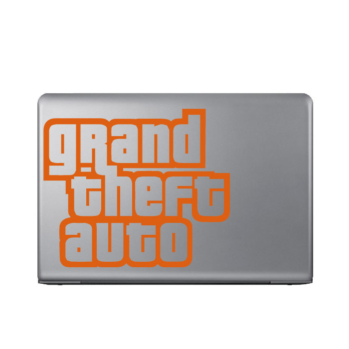 Gran Theft Auto Gaming Entertainment Laptop Phone Tablet Car Stickers Art Decals