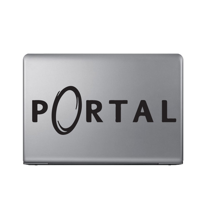 Portal Gaming Entertainment Laptop Phone Tablet Car Stickers Home Art Decals