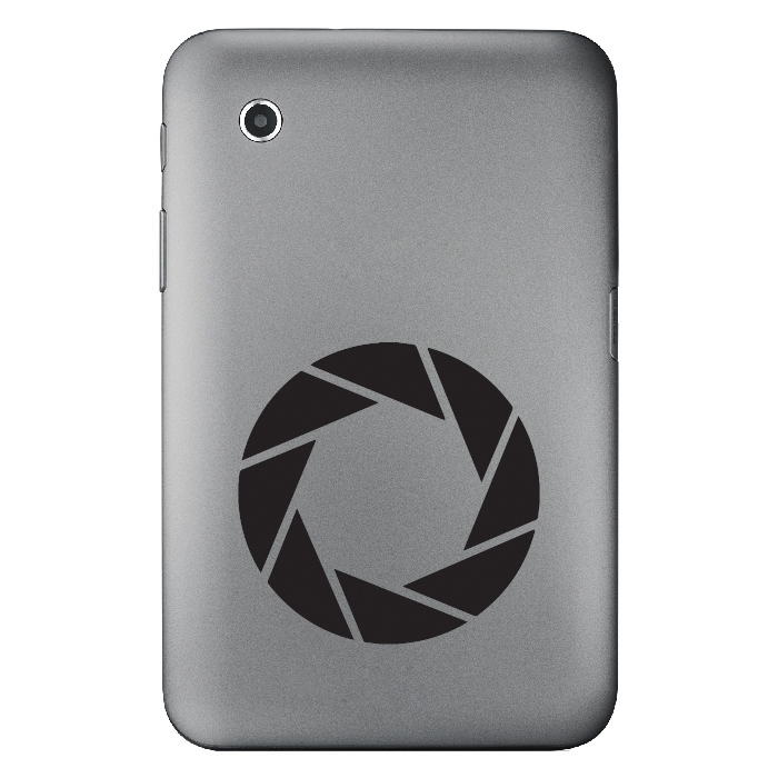 Aperture Science Logo Gaming Laptop Phone Tablet Car Stickers Home Art Decals