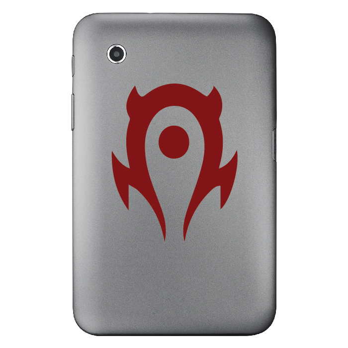 World Of War Craft Horde Gaming Laptop Phone Tablet Car Stickers Home Art Decals