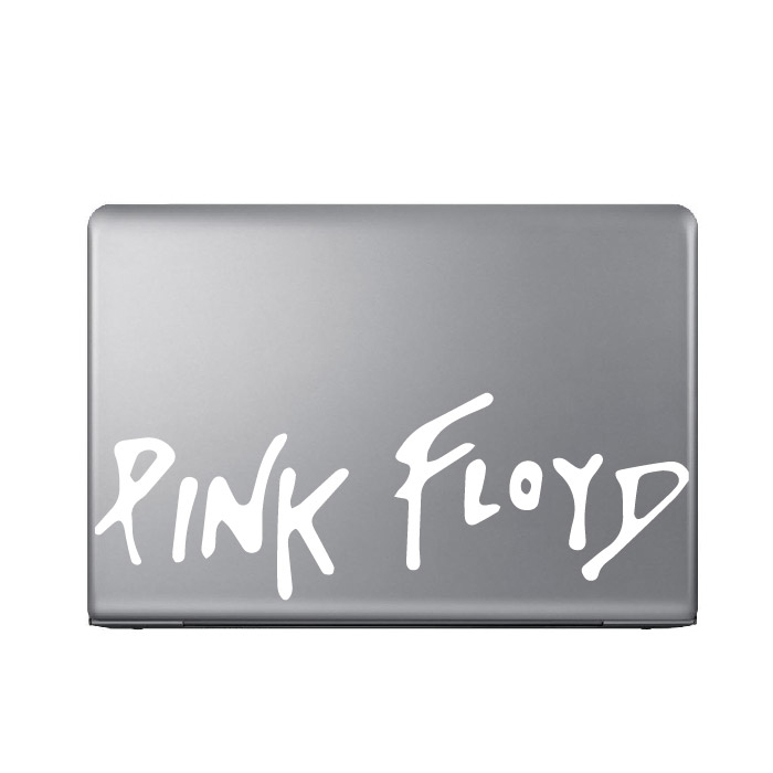 Pink Floyd Band Name Logo Laptop Phone Tablet Car Stickers Home Decor Art Decals