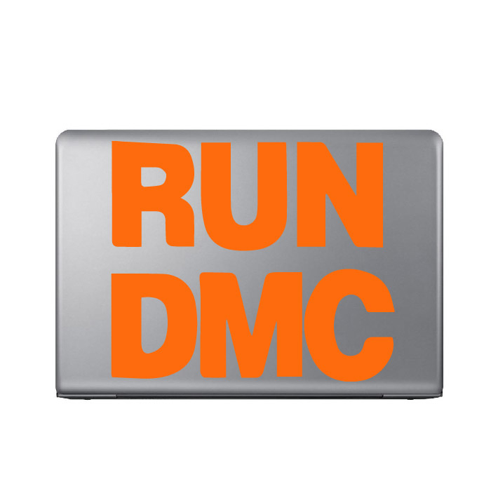 Run DMC Band Name Logo Laptop Phone Tablet Car Stickers Home Decor Art Decals