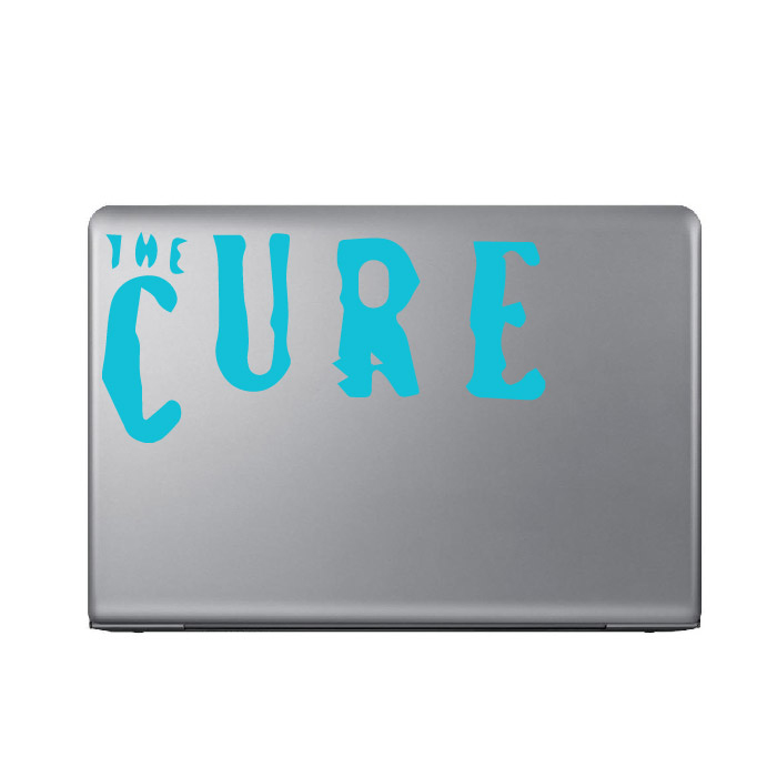 The Cure Band Name Logo Laptop Phone Tablet Car Stickers Home Decor Art Decals