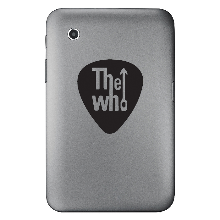 The Who Band Name Logo Laptop Phone Tablet Car Stickers Home Decor Art Decals