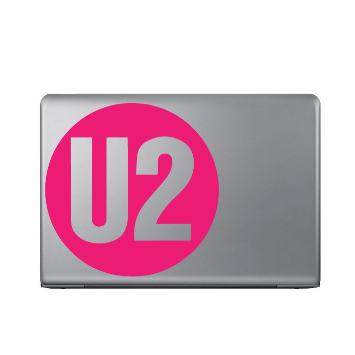 U2 Band Name Logo Laptop Phone Tablet Car Stickers Home Decor Art Decals