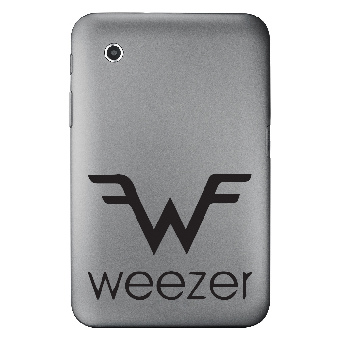 Weezer Band Name Logo Laptop Phone Tablet Car Stickers Home Decor Art Decals