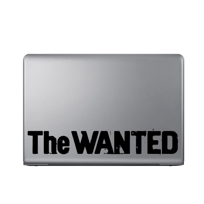 The Wanted Band Name Logo Laptop Phone Tablet Car Stickers Home Decor Art Decals
