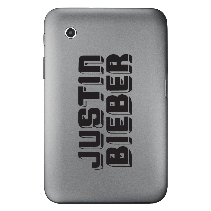 Justin Beiber Band Name Logo Laptop Phone Tablet Car Stickers Home Art Decals