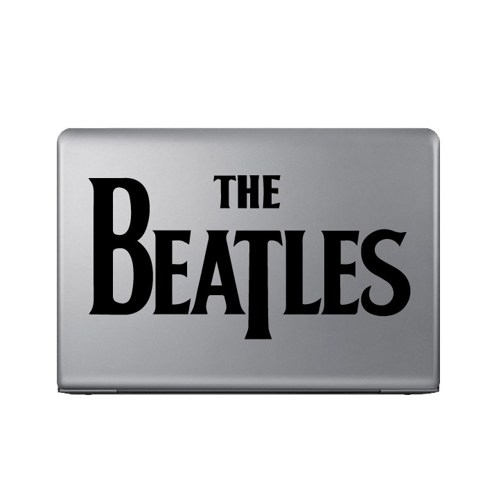 The Beatles Band Name Logo Laptop Phone Tablet Car Sticker Home Decor Art Decals