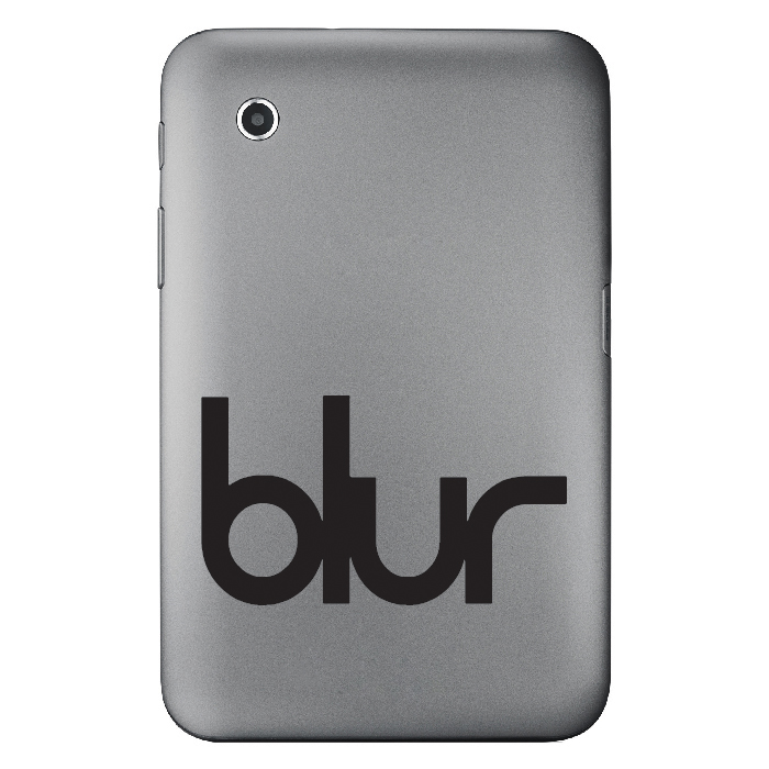 Blur Laptop Band Name Logo Laptop Phone Tablet Car Sticker Home Decor Art Decals