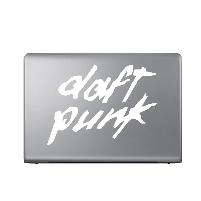 Daft Punk Band Name Logo Laptop Phone Tablet Car Stickers Home Decor Art Decals