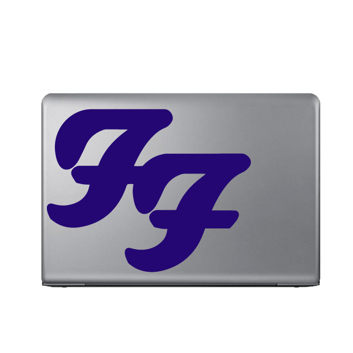 Foo Fighters Band Name Logo Laptop Phone Tablet Car Sticker Home Decor Art Decal