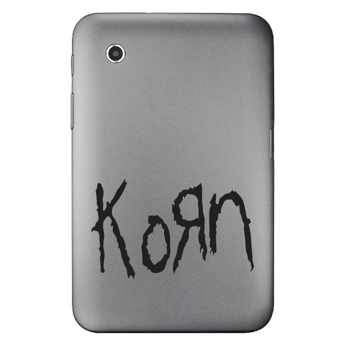Korn Band Name Logo Laptop Phone Tablet Car Stickers Home Decor Art Decals