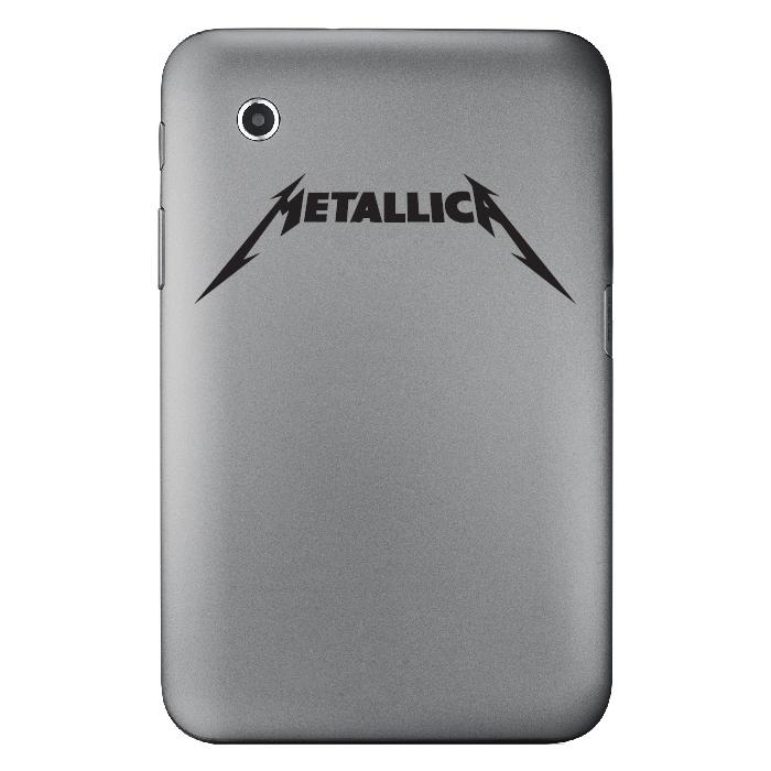 Metallica Band Name Logo Laptop Phone Tablet Car Stickers Home Decor Art Decals