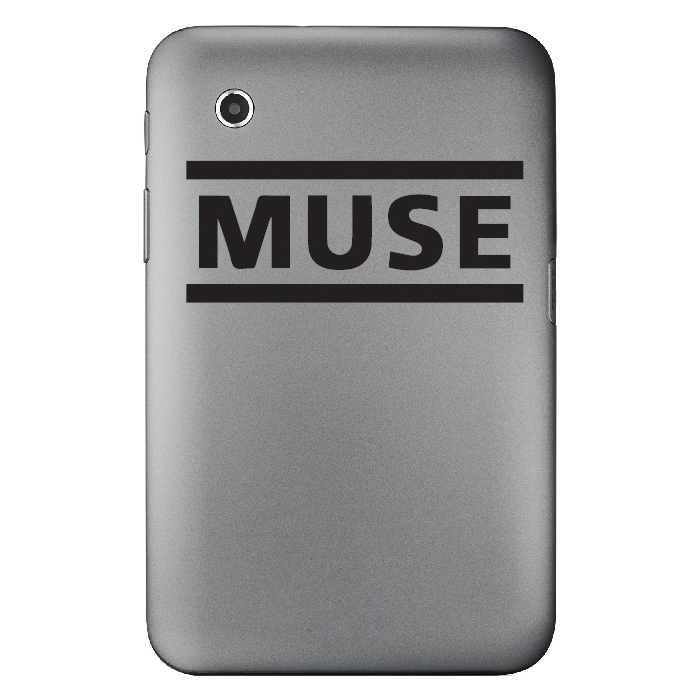 Muse Band Name Logo Laptop Phone Tablet Car Stickers Home Decor Art Decals