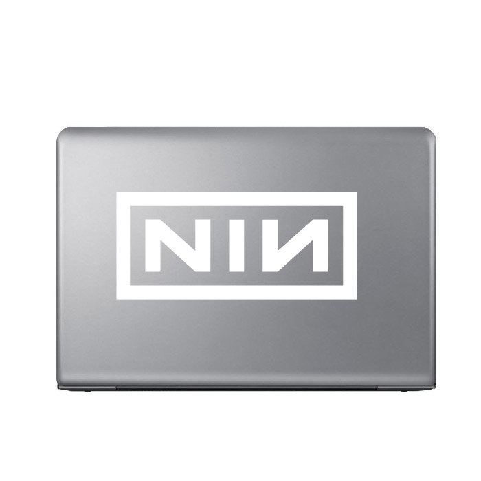 Nine Inch Nails Band Name Logo Laptop Phone Tablet Car Stickers Home Art Decals