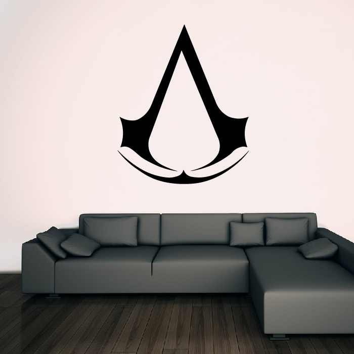Assassins Creed Symbol Gaming & Entertainment Wall Stickers Home Art Decals