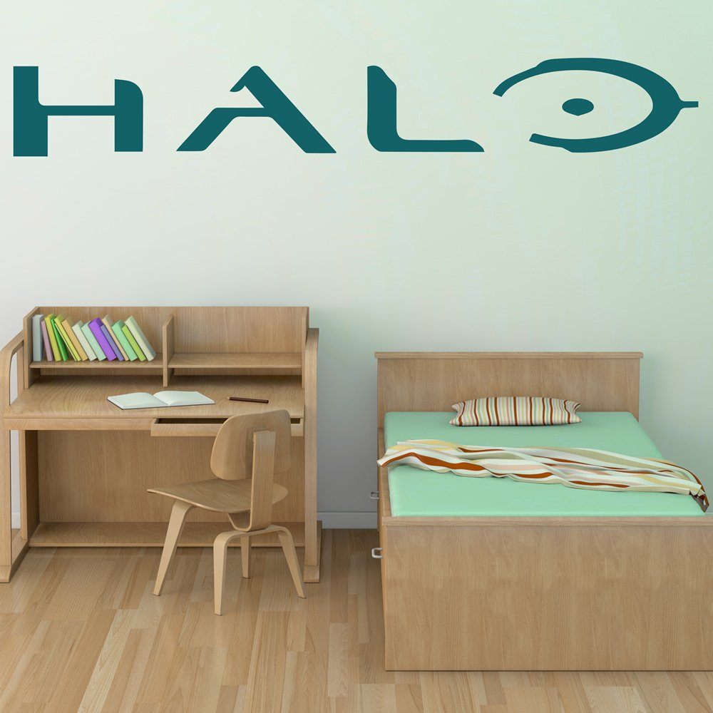 Halo Logo Video Games Gaming & Entertainment Wall Stickers Home Art Decals