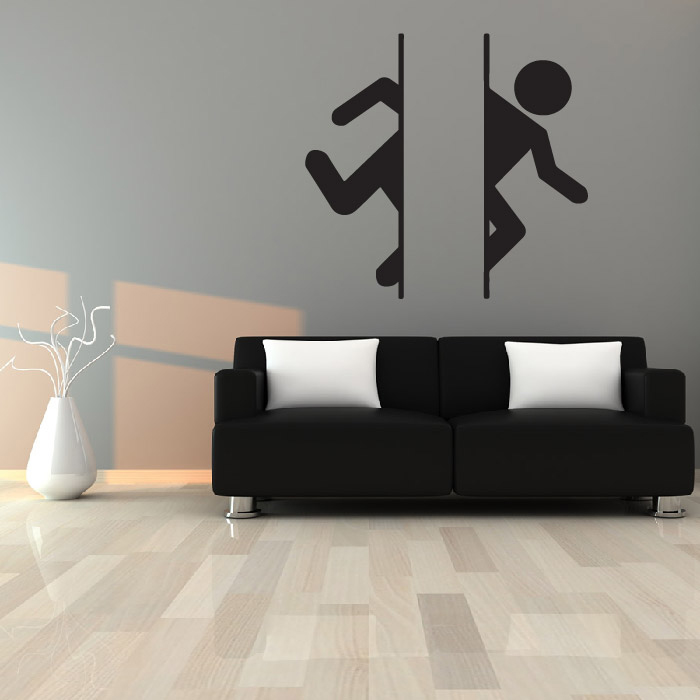 Portal Logo Brand Gaming & Entertainment Wall Stickers Home Art Decals