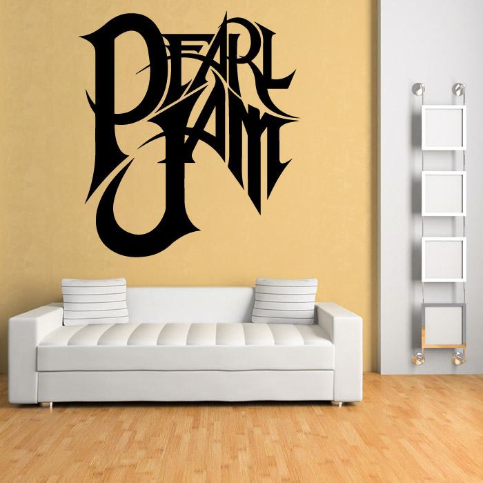 Pearl Jam Wall Sticker Music Wall Art