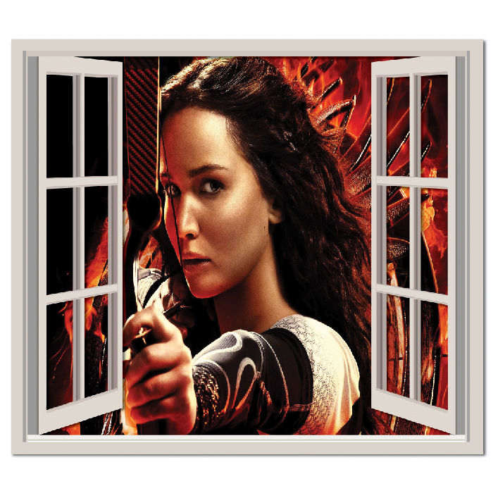 Hunger Games Wall Sticker Window Wall Decal