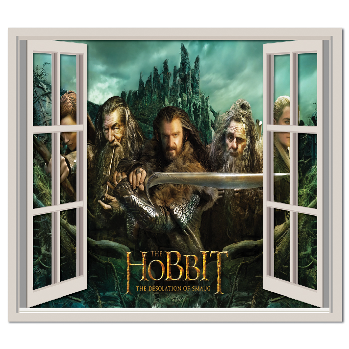 The Hobbit Wall Sticker Window Wall Decal