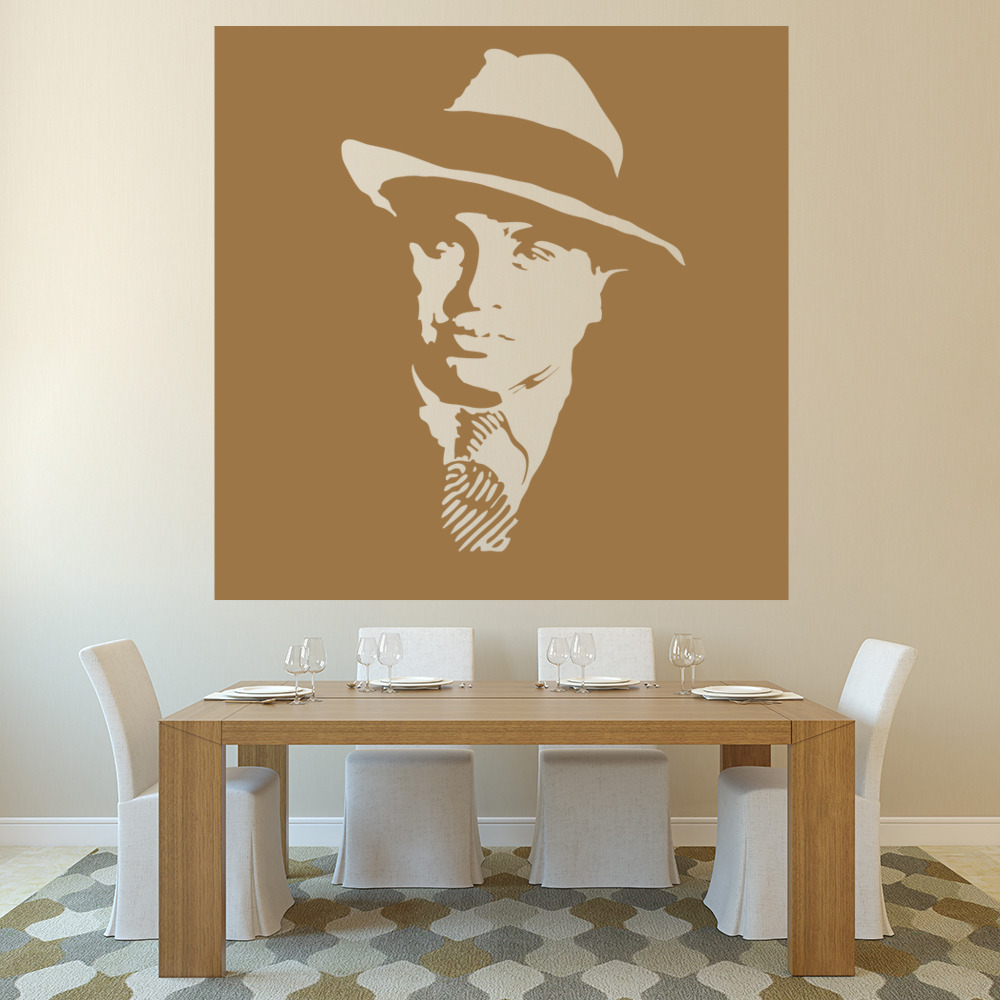 Al Capone Wall Sticker Icon Wall Art