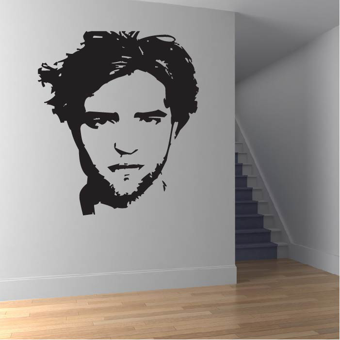Robert Pattinson Wall Sticker Icon Wall Art