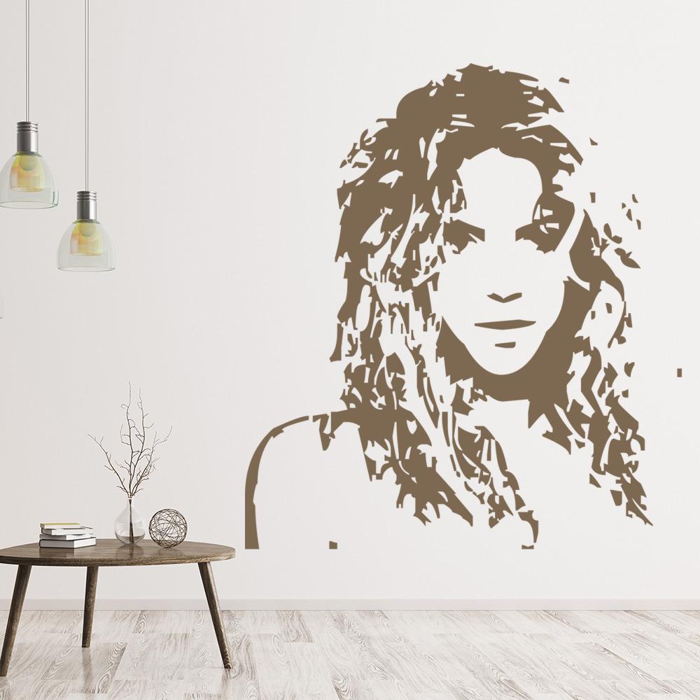 Shakira Wall Sticker Icon Wall Art