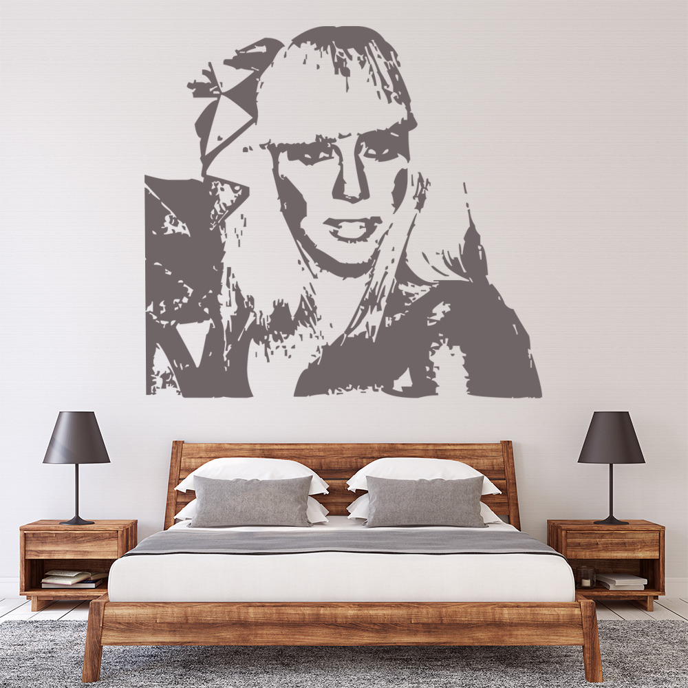 Lady GaGa Wall Sticker Icon Wall Art