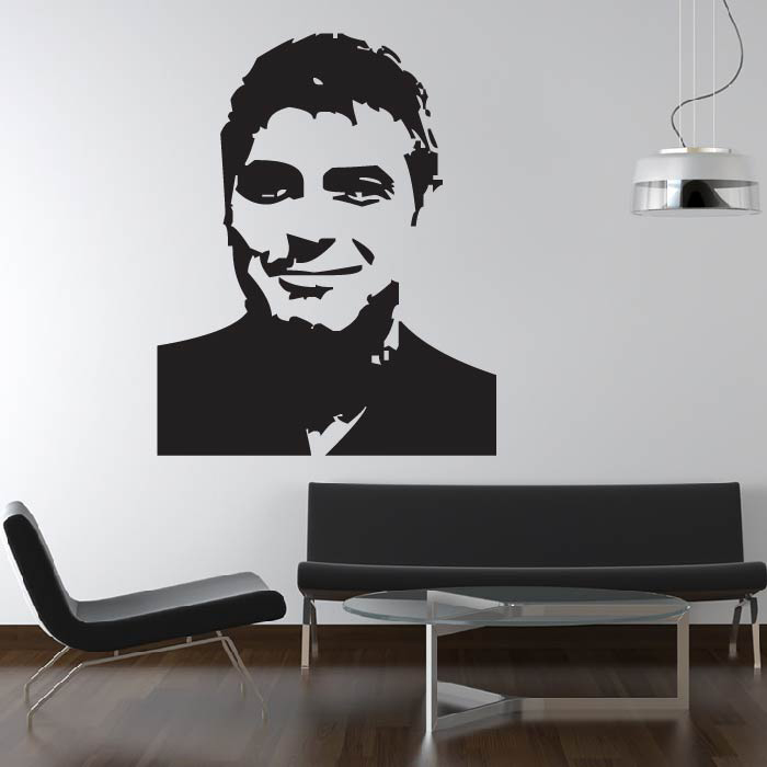 George Clooney  Wall Sticker Icon Wall Art