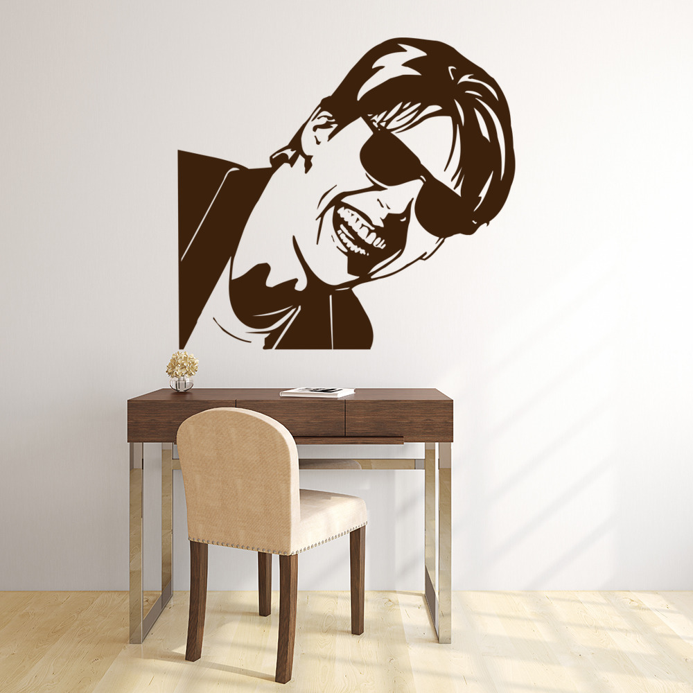 Tom Cruise Sunglasses Close Up Icons & Celebrities Wall Stickers Home Art Decals