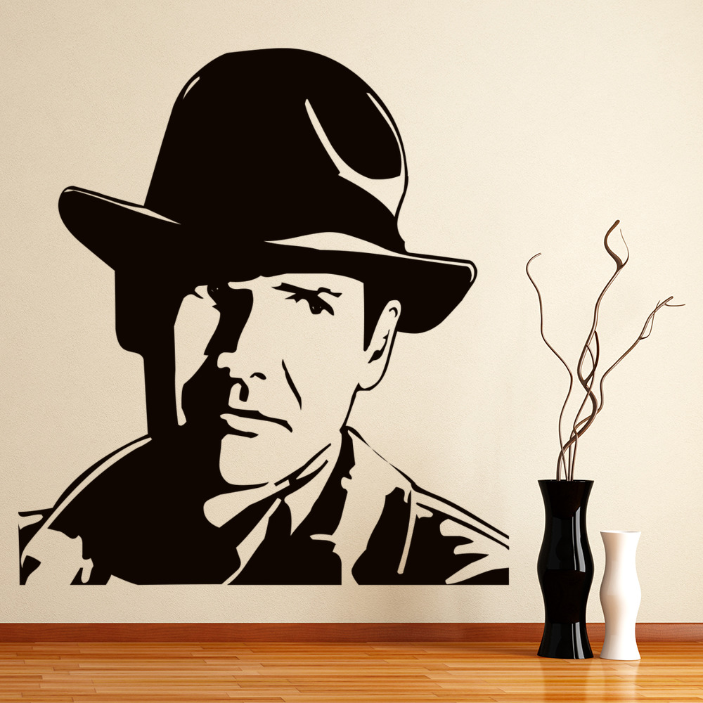 Indiana Jones Wall Sticker Icon Wall Art