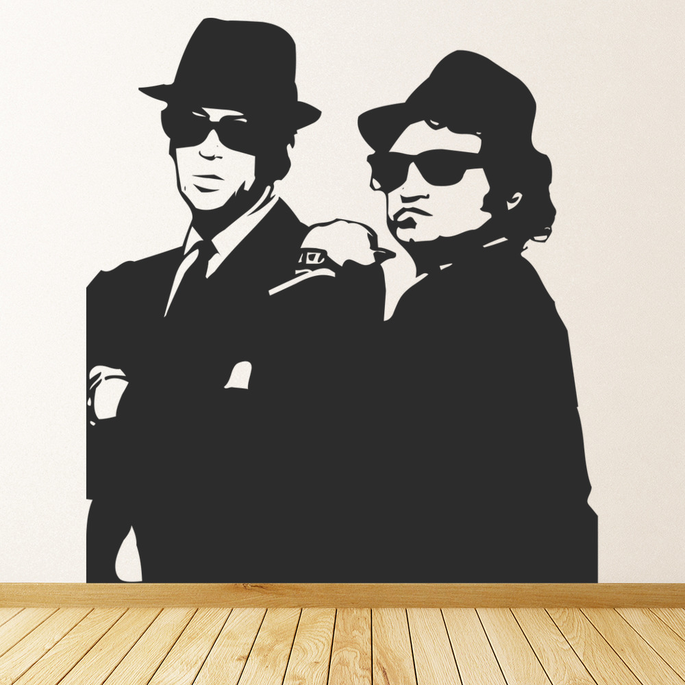 Blues Brothers Wall Sticker Icon Wall Art