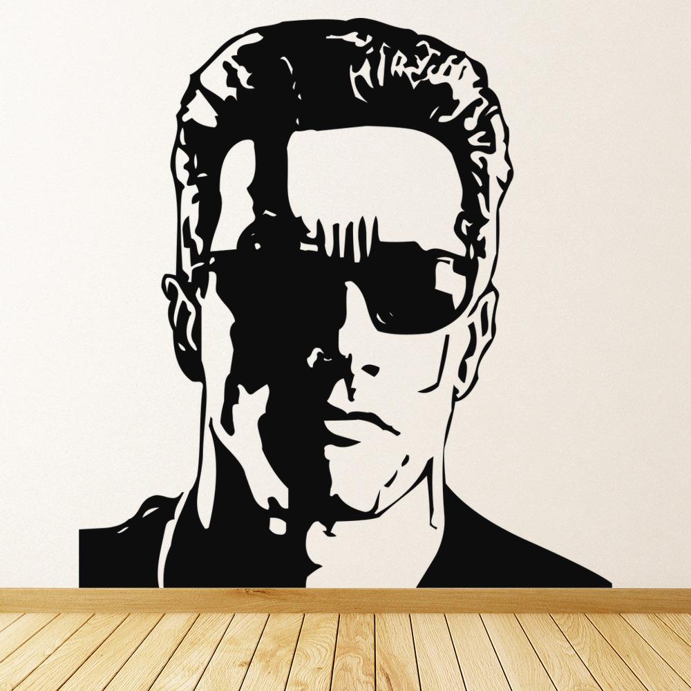 Arnold Schwarzenegger Wall Sticker Icon Wall Art