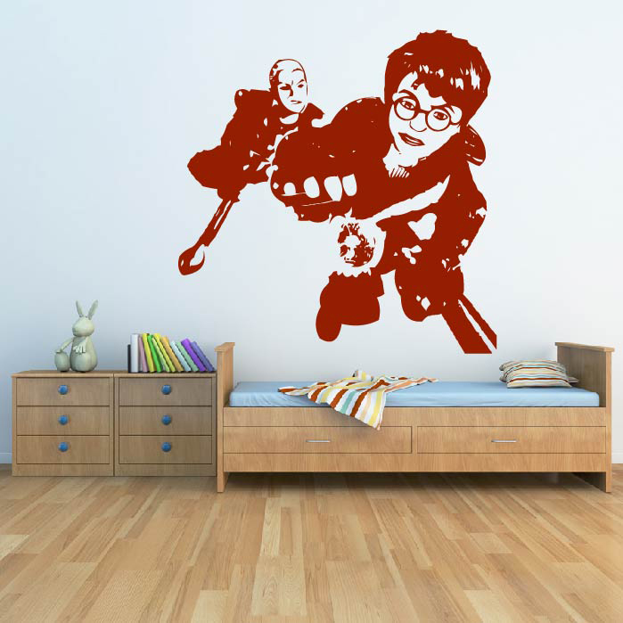 Wall Art Stickers Harry Potter : Harry potter golden snitch wall sticker icon art