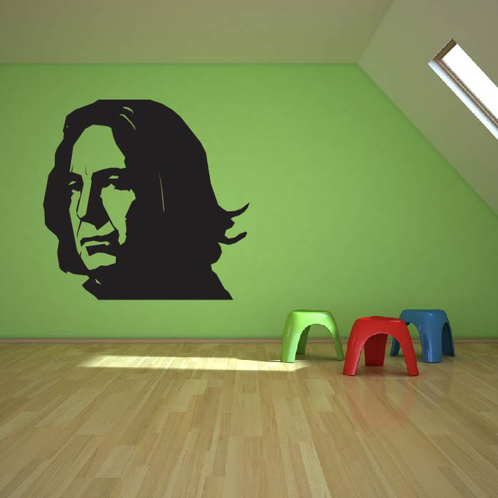 Professor Snape Alan Rickman Harry Potter TV & Movie Wall Art Sticker