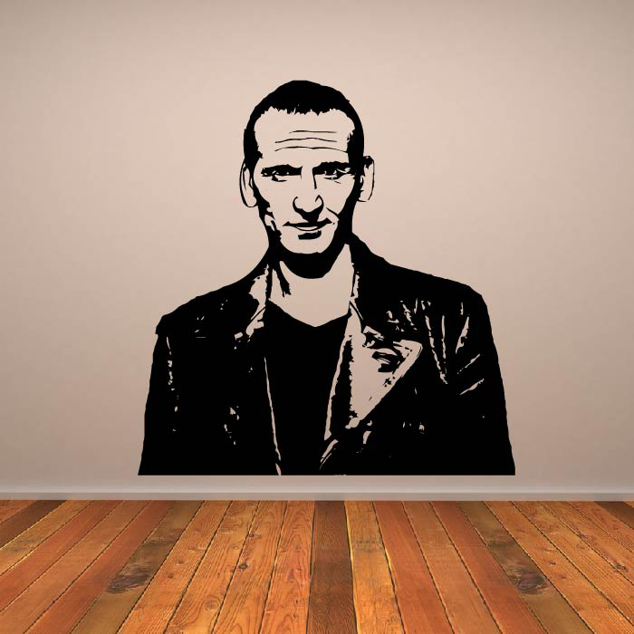 The Ninth Doctor Doctor Who Sci-Fi TV & Movie Wall Stickers Home Art Decals