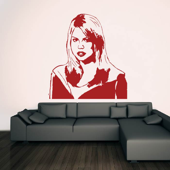 Rose Tyler Companion Doctor Who Sci-Fi TV & Movie Wall Stickers Home Art Decals