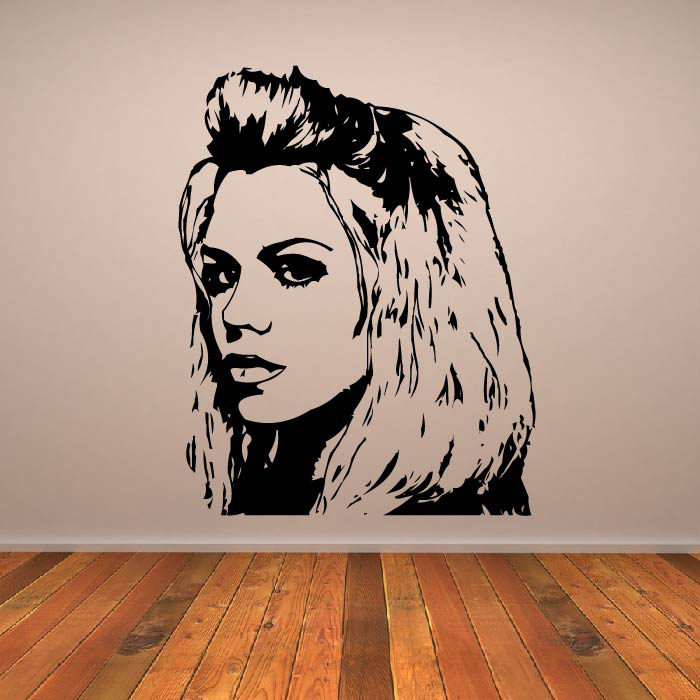 Rose Tyler Portrait Doctor Who Sci-Fi TV & Movie Wall Stickers Home Art Decals