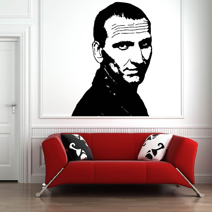 Christopher Eccleston 9th Doctor Doctor Who TV & Movie Wall Stickers Home Decals
