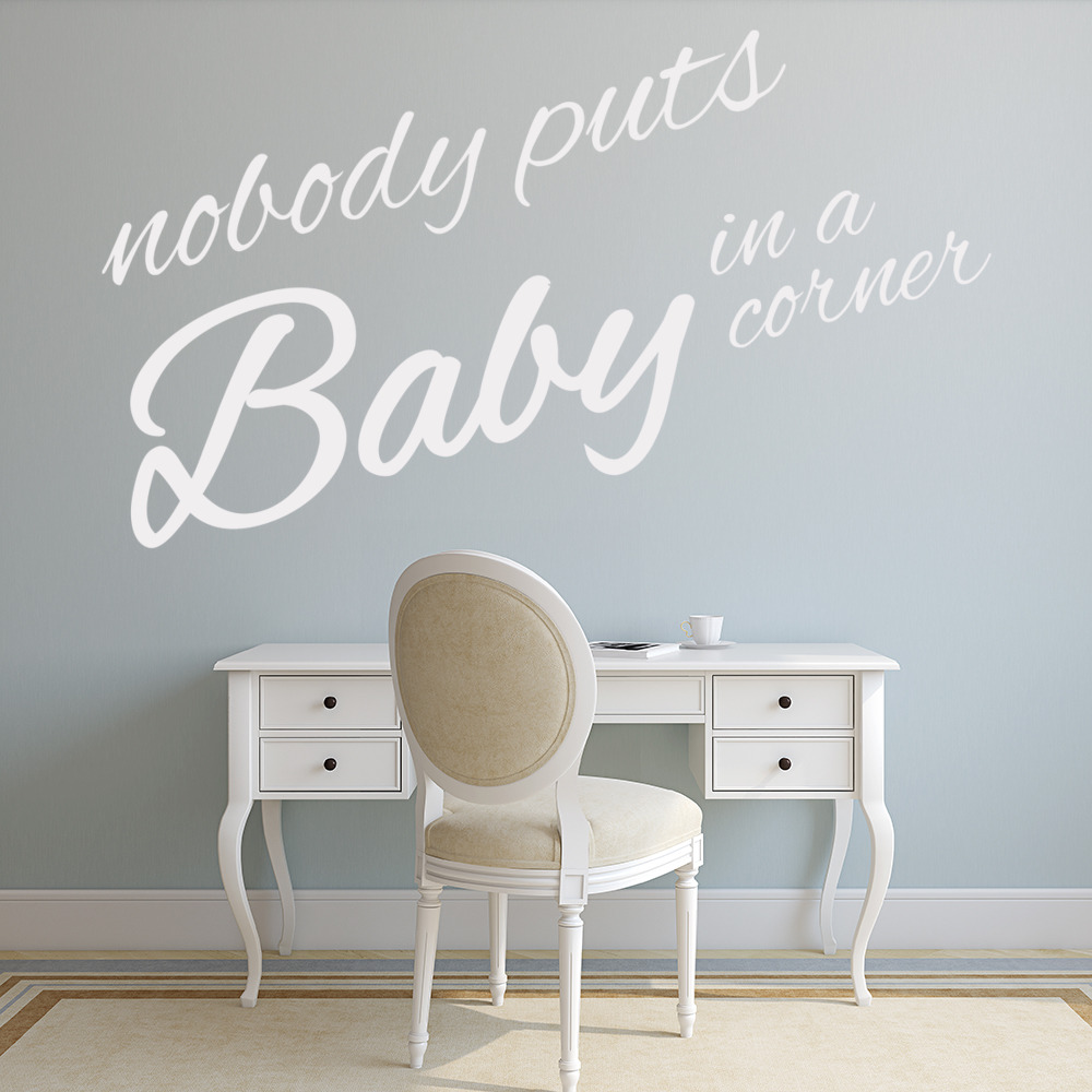 Dirty Dancing Wall Sticker Movie Quote Wall Decal Bedroom