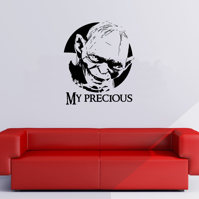 My Precious Lord Of The Rings Fantasy TV & Movie Wall Stickers Home Art Decals