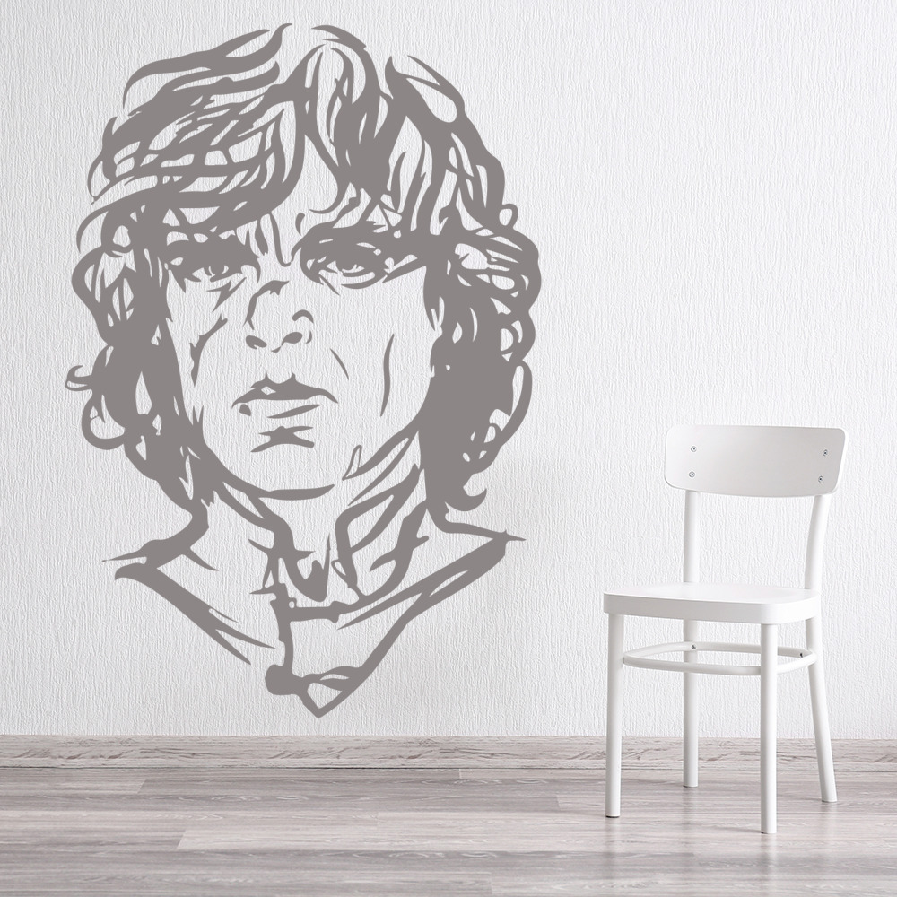 Tyrion Portrait Game Of Thrones TV & Movie Wall Stickers Home Decor Art Decals