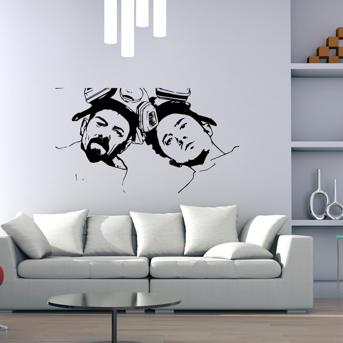 Walter And Jessie Breaking Bad TV & Movie Wall Stickers Home Decor Art Decals