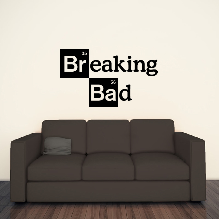 Breaking Bad Logo Breaking Bad TV & Movie Wall Stickers Home Decor Art Decals